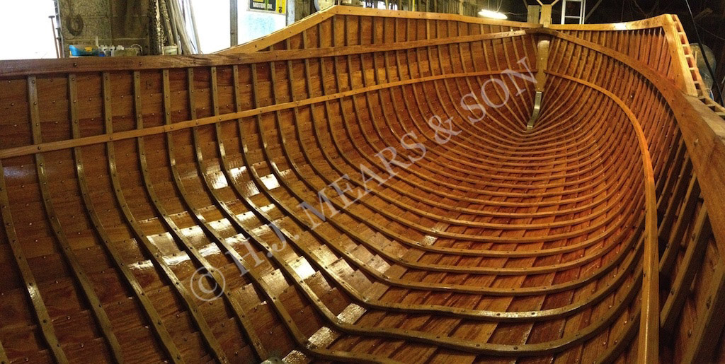 Wooden Boatbuilding - H.J. Mears & Son Boat Builders